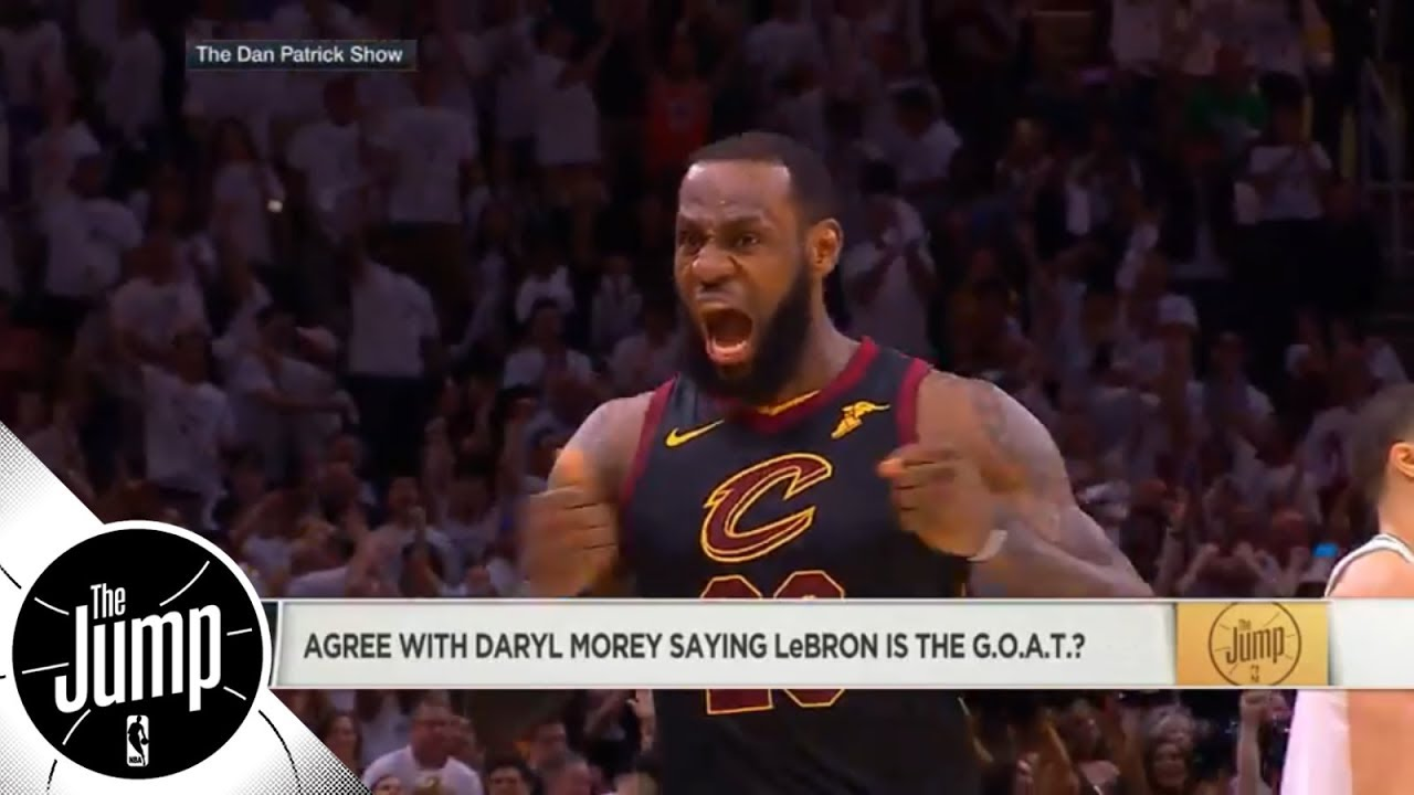Rockets GM Daryl Morey says LeBron James is the GOAT; is he right? | The Jump | ESPN