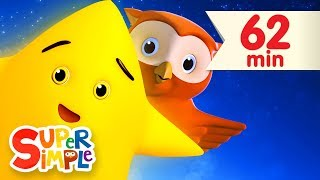 Twinkle Twinkle Little Star + More | Kids Songs | Super Simple Songs(, 2014-11-05T13:30:05.000Z)