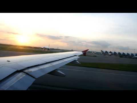 Thai Airasia FD3139 Take Off BKK-HDY