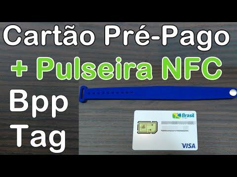 BPP TAG é Cartão Pré-Pago Visa na Pulseira NFC #PagamentosMóveis #AppseDicas