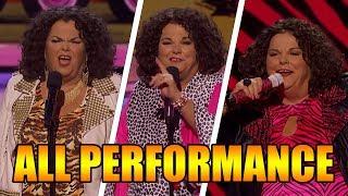 Vicki Barbolak America's Got Talent 2018 Finalist ALL Performances|GTF
