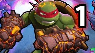 Teenage Mutant: Ninja Turtle - Power Portal Gameplay Walkthrough Part 1