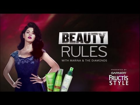 """Beauty Rules with Marina and the Diamonds -- """"Rocking Punk"""" Episode 1"""
