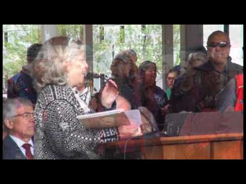 Building Dedication & Ribbon Cutting | Alaska State Library, Archives & Museum