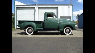 "1951 Chevrolet 3100 Pick up Truck ""SOLD"" West Coast Collector Cars"