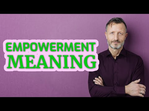 Empowerment | Definition Of Empowerment