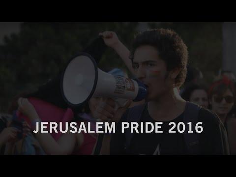 Jerusalem Gay Pride Parade 2016