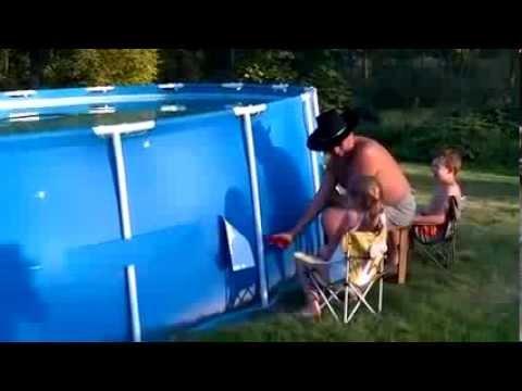 piscine tubulaire qui casse