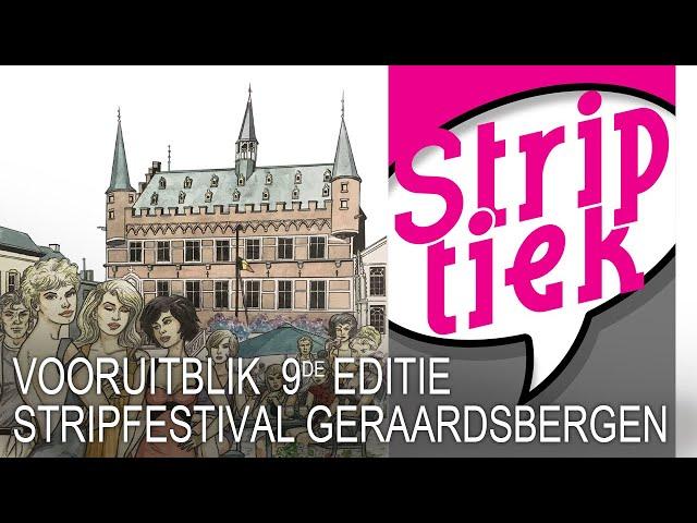 Vooruitblik Stripfestival Geraardsbergen 2020