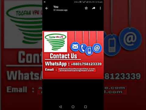 All Android phone Toofan Vpn lite wifi & data 100 %working Imo, WhatsApp,  Skype, Messenger, audio an