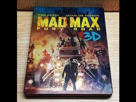 "Обзор распаковка Blu-ray ""Безумный Макс: дорога ярости"" железный бокс / Mad Max: Fury Road Futurepak"
