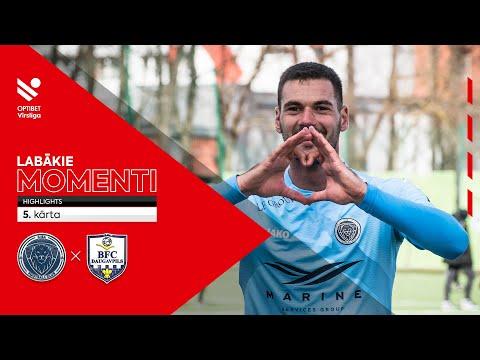 Riga FC BFC Daugavpils Goals And Highlights