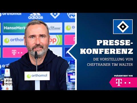 RE-LIVE: Vorstellung unseres neuen Cheftrainers Tim Walter