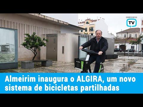 Almeirim inaugura o ALGIRA, um novo sistema de bicicletas partilhadas