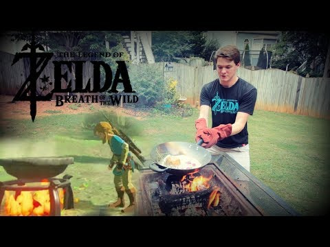 How to Cook Like Link in Breath of the Wild!