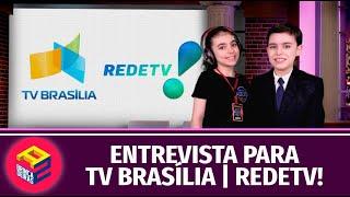 ENTREVISTA PARA TV BRASÍLIA | REDETV! - BRINCADEIRAS A DOIS