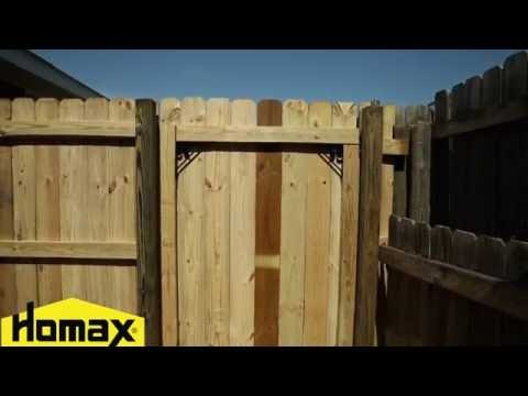 How To Homax Products Easygate No Sag Gate Kit Youtube