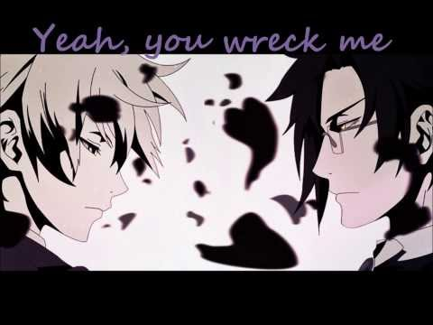 【Nightcore】 Wrecking Ball 【 Male Version  Lyrics】