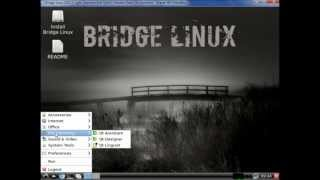 Bridge Linux 2012.5 Light Presentation ( Arch Linux Based Distribution )