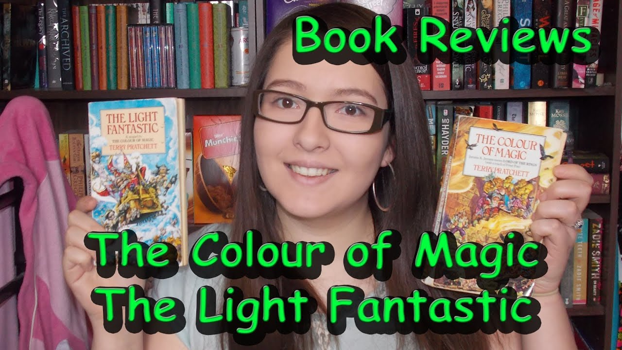 The Colour of Magic & The Light Fantastic (book reviews) - YouTube