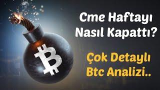 #Bitcoin Analiz - Cme Haftayi Nasil Kapatti? Detayli Bitcoin Analizi! Btc Teknik Analiz Forex
