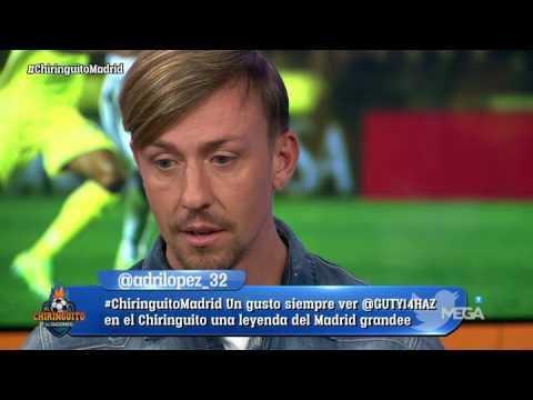 """Guti: """"Quien tiene que temer es el Barça, el Madrid es el Campeón de Europa"""""""