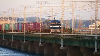 2019/11/07 JR貨物 朝の定番貨物列車5本