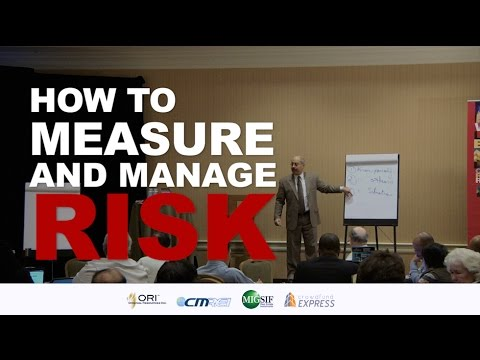 How to Measure and Manage Risk