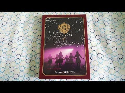 Unboxing GFRIEND (여자친구) - 2018 Season Of Gfriend First Concert DVD