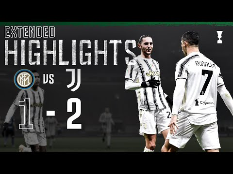 Inter 1-2 Juventus | CR7 Secures San Siro Win! | EXTENDED Highlights