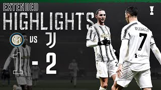Inter 1 2 Juventus CR7 Secures San Siro Win EXTENDED Highlights