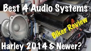 Harley Boom Stage 2 vs. J&M Rokker vs. Cycle Sounds vs. Hogtunes-What's the Best?