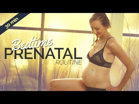 easy prenatal bedtime yoga routine for better sleep 30