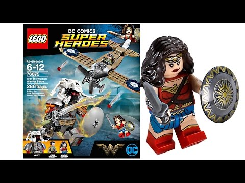 LEGO Wonder Woman 2017 set pictures! - YouTube