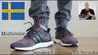 save off 84509 64620 Sneaker Unboxing På Svenska (Swedish) - Ultra Boost Multicolor - Mr Stoltz  2017