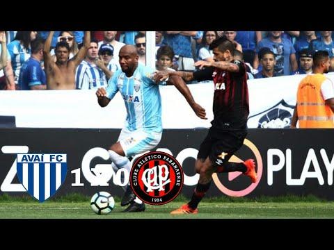 Avai 1 x 0 Atlético-PR (HD) Melhores Momentos E Gols ( Brasileirão ) 26/11/2017