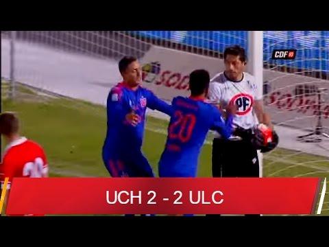 U. de Chile 2-2 La Calera Fecha 14 1A Clausura 2015/2016