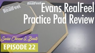 Evans RealFeel Practice Pad Review & Sound Test | Swiss Cheese Beats Ep. 22