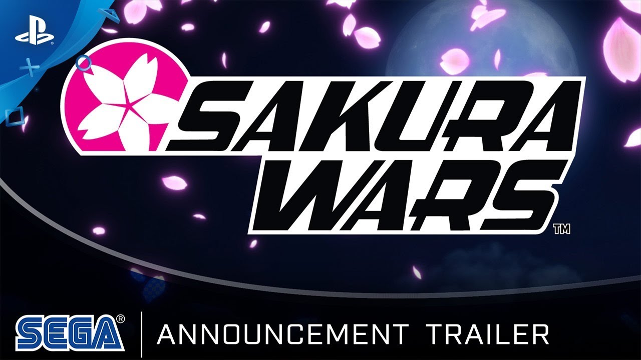 Sakura Wars | Announcement Trailer | PS4