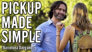 Rejections are Part of Pickup - Natural Style Daygame in Barcelona | James Marshall Infield
