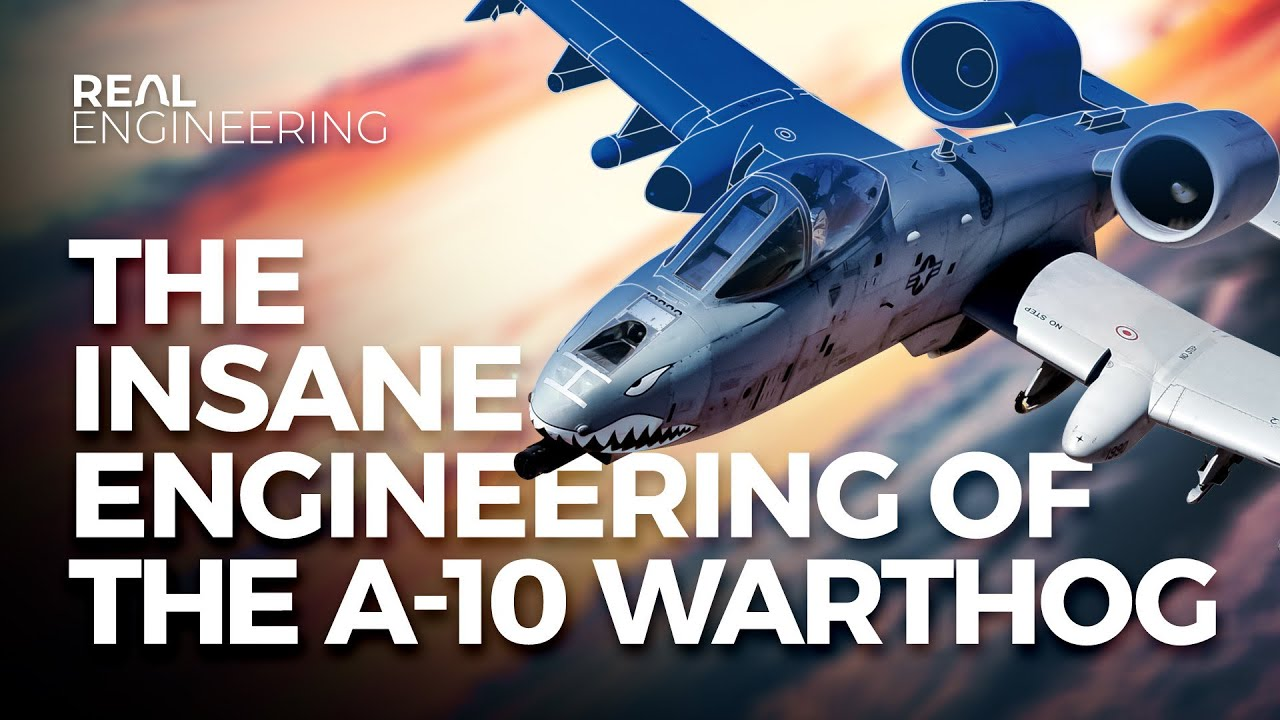 The Insane Engineering of the A-10 Warthog