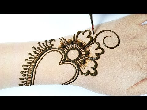 Arabic Bridal Mehndi Designs for Hands-Stylish beautiful mehndi design 2020-हाथो के लिए सूंदर मेहँदी