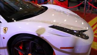 SUPERCARS: Ferrari 458 by Pininfarina, Manila Auto Show (MIAS 2014)