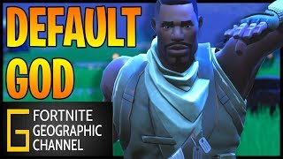 Fortnite Geographic | The Default skin Tryhard | Short film documentary