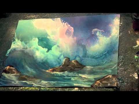 airbrush painting secrets waves and underwater video tutorials