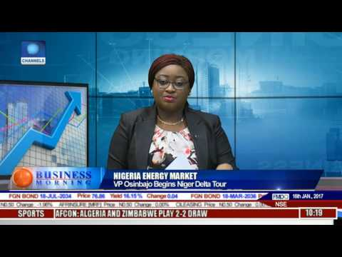 Business Morning: Outlook On Osinbajo's Niger Delta Tour Pt 1
