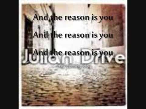 The Reason (with lyrics)