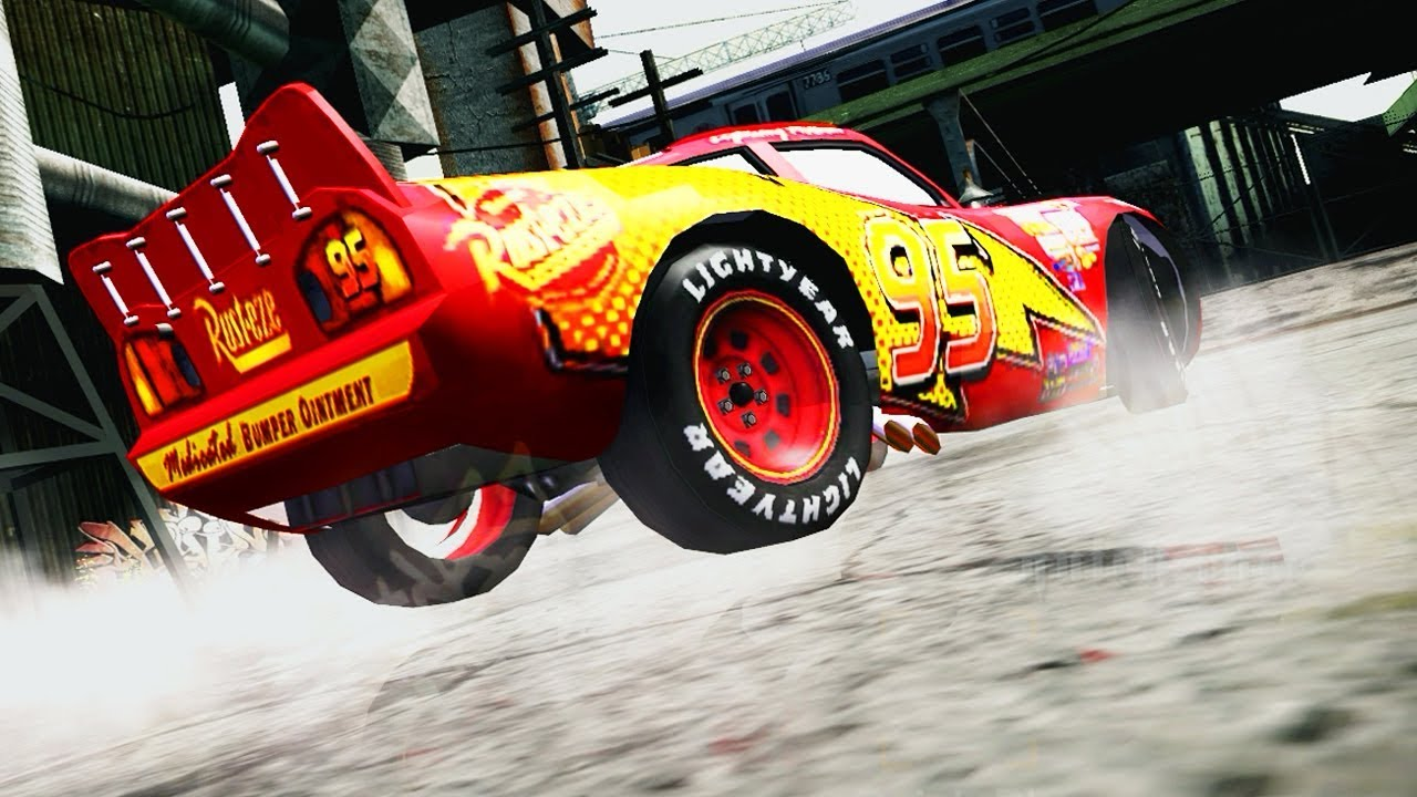 lightning mcqueen mods  need for speed most wanted