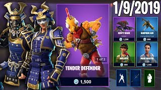TRYHARD SKINS RETURN! January 9th New Skins || Daily Fortnite Item Shop