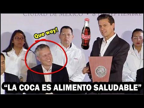 """Directivos se Burlan de Peña Nieto por decir que la Coca-Cola es un alimento """"Saludable"""""""